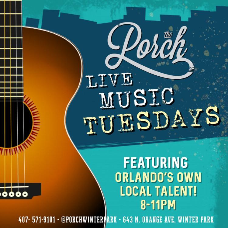 Live Music Tuesdays 8pm-11pm